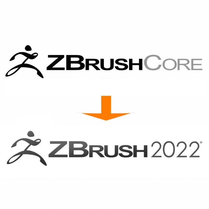 ZBrush Core→ZBrush 2021 アップデート