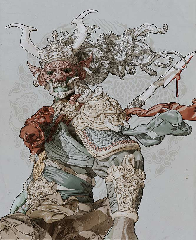 ZBrush Artist: Zhelong Xu