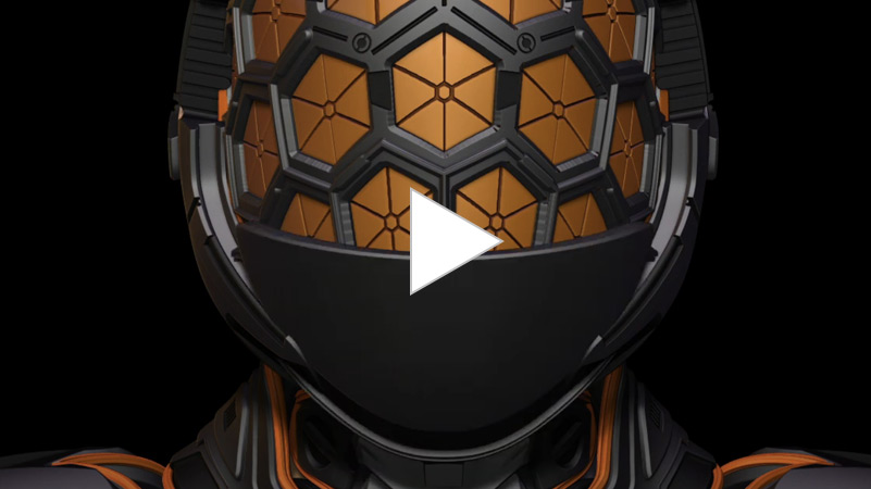 Mesh From Mask Armor