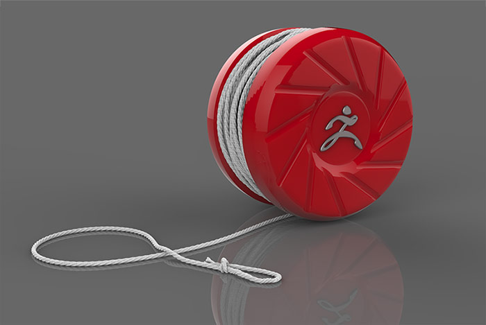 Boolean Yo-Yo Final Render