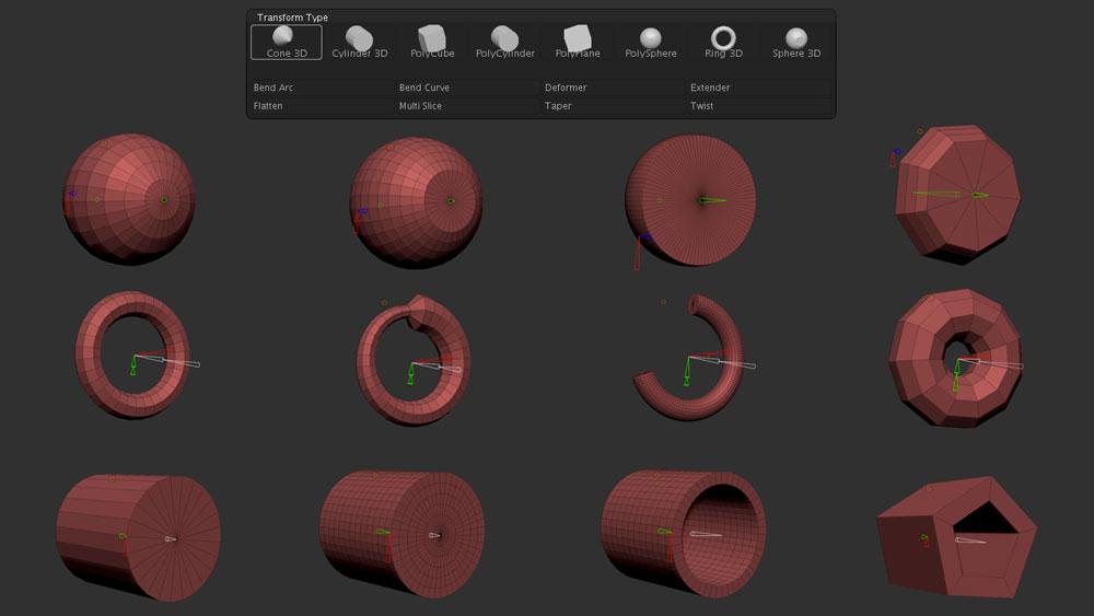 Gizmo 3D Primitives