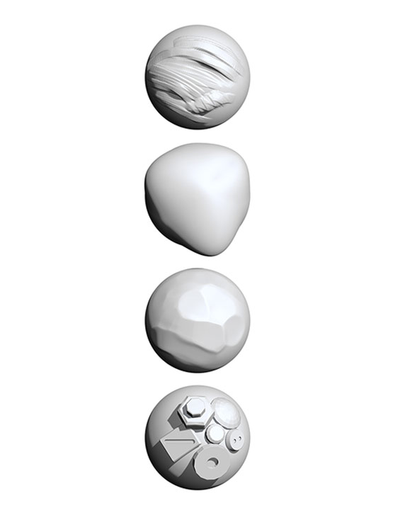 Sculpting Brushes in ZBrushCore