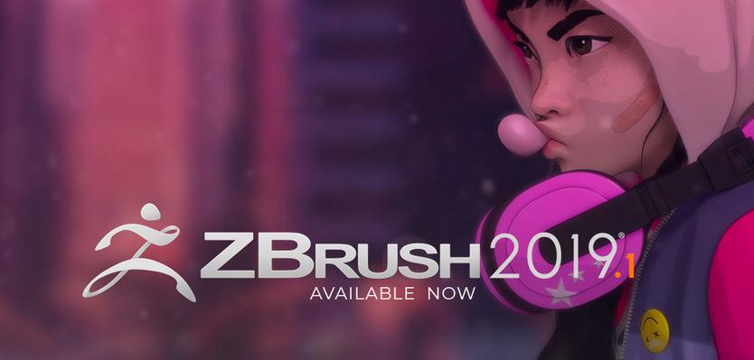 Pixologic ZBrush 2019.1 アップデートがリリース