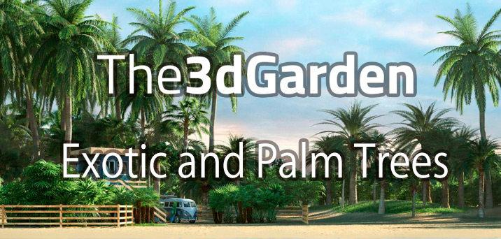The3dGarden, Exotic and Palm Trees 発売開始