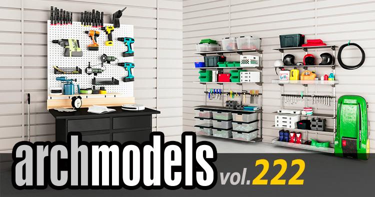 Archmodels vol.222 ガレージプロップがリリース