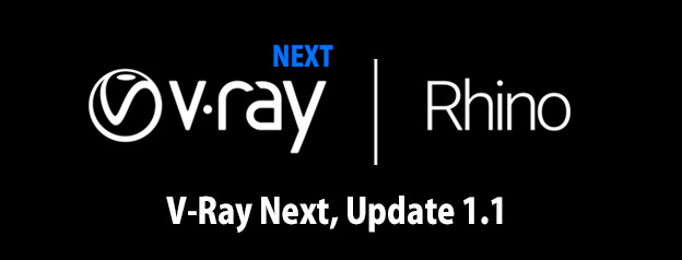 V-Ray Next Rhino, Update 1.1がリリース
