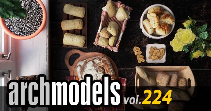Archmodels vol.224 食べ物がリリース