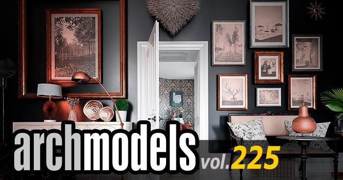 Archmodels vol.225 家具セットがリリース