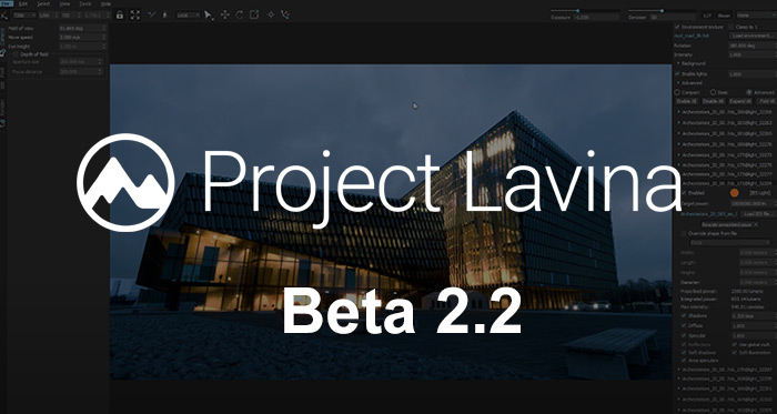 Project Lavina, beta 2.2 アップデート