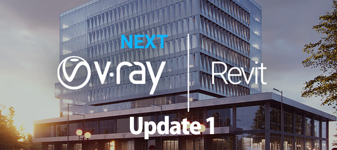 V-Ray Next for Revit, Update 1をリリース