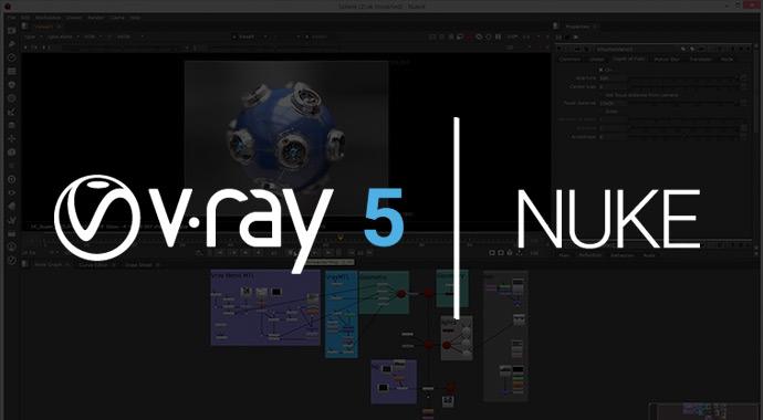 V-Ray 5 for Nuke 発売開始
