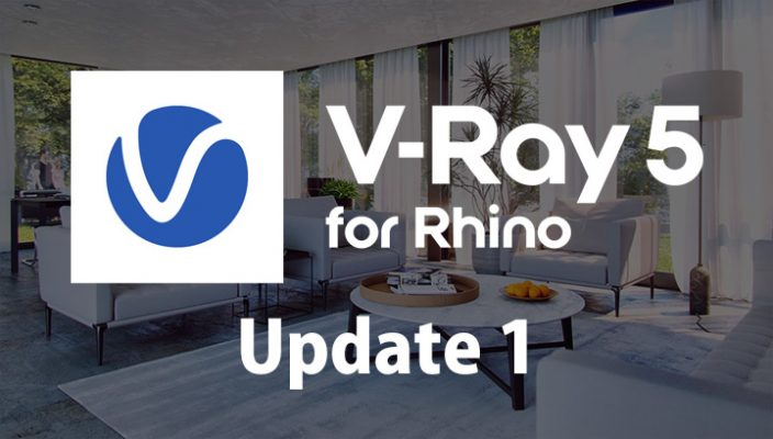 V-Ray 5 for Rhino, Update 1(Build 5.10.01)提供開始