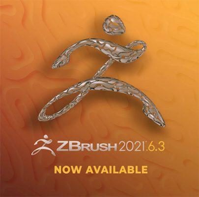 ZBrush 2021.6.3 アップデータがリリース