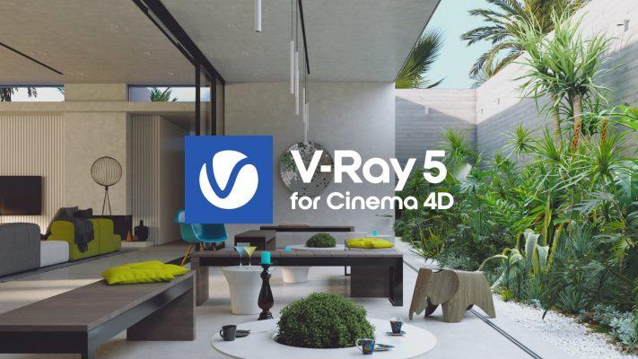 V-Ray 5 for Cinema 4D, update 1 を提供開始