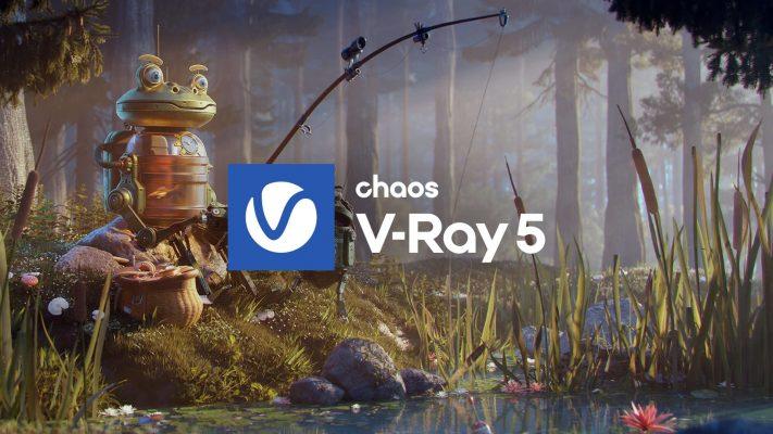 V-Ray 5, update 1 の Maya版とHoudini版がリリース