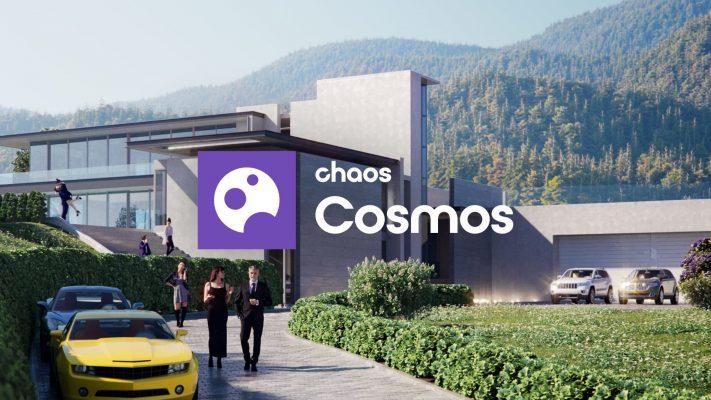 Chaos Cosmosライブラリに200を超えるアセットが追加