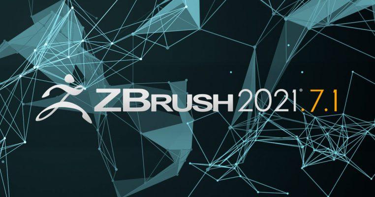 Pixologic社 ZBrush 2021.7.1 アップデートを提供開始